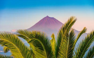 pico azores atlantic ocean hike to mountain