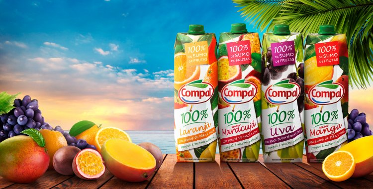 Compal Sumol Juice Azores Islands Fruits