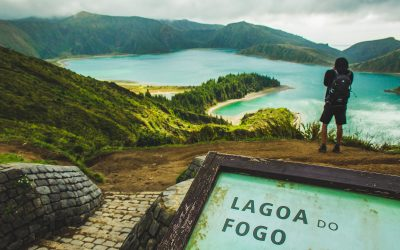 lagoa do fogo azores islands