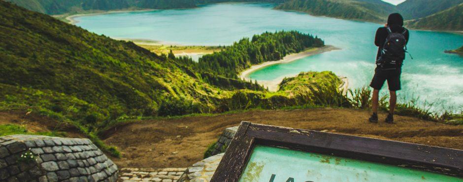 lagoa do fogo azores islands