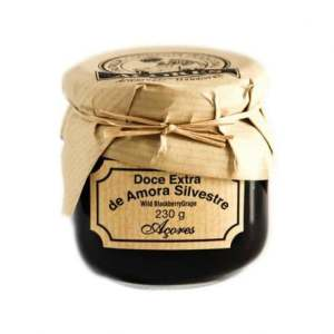 azores wild blackberry fruit jam