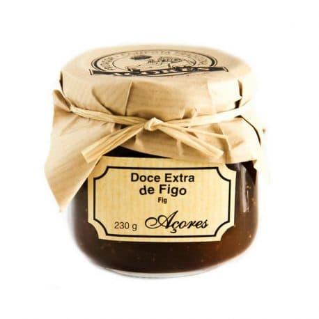 portuguese azores fig fruit jam
