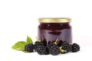 azores blackberry amora jam jar