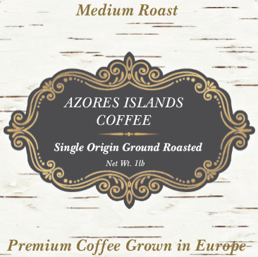 Azores Portuguese European Coffee Medium Roast