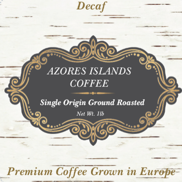 Azores European Coffee Decaf Portugal