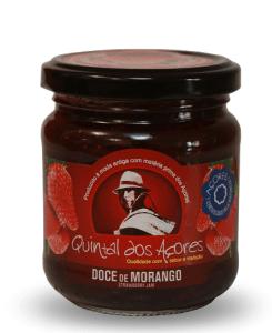 azores strawberry fruit jam