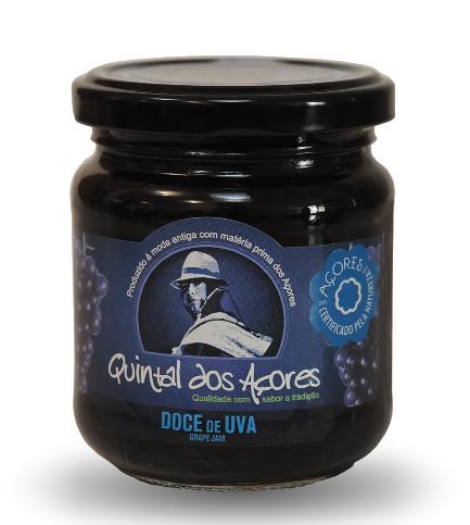 portuguese azores grape jam fruit