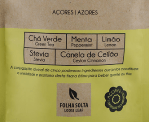 Portuguese Azores Peppermint Lemon Tea