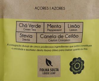 Portuguese Azores Peppermint Lemon Tea