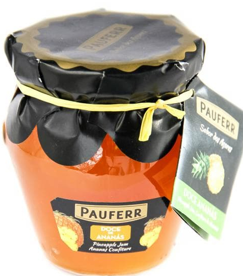 azores pineapple fruit jam