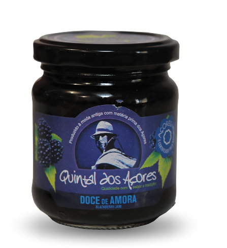 azores islands blackberry fruit jam doce