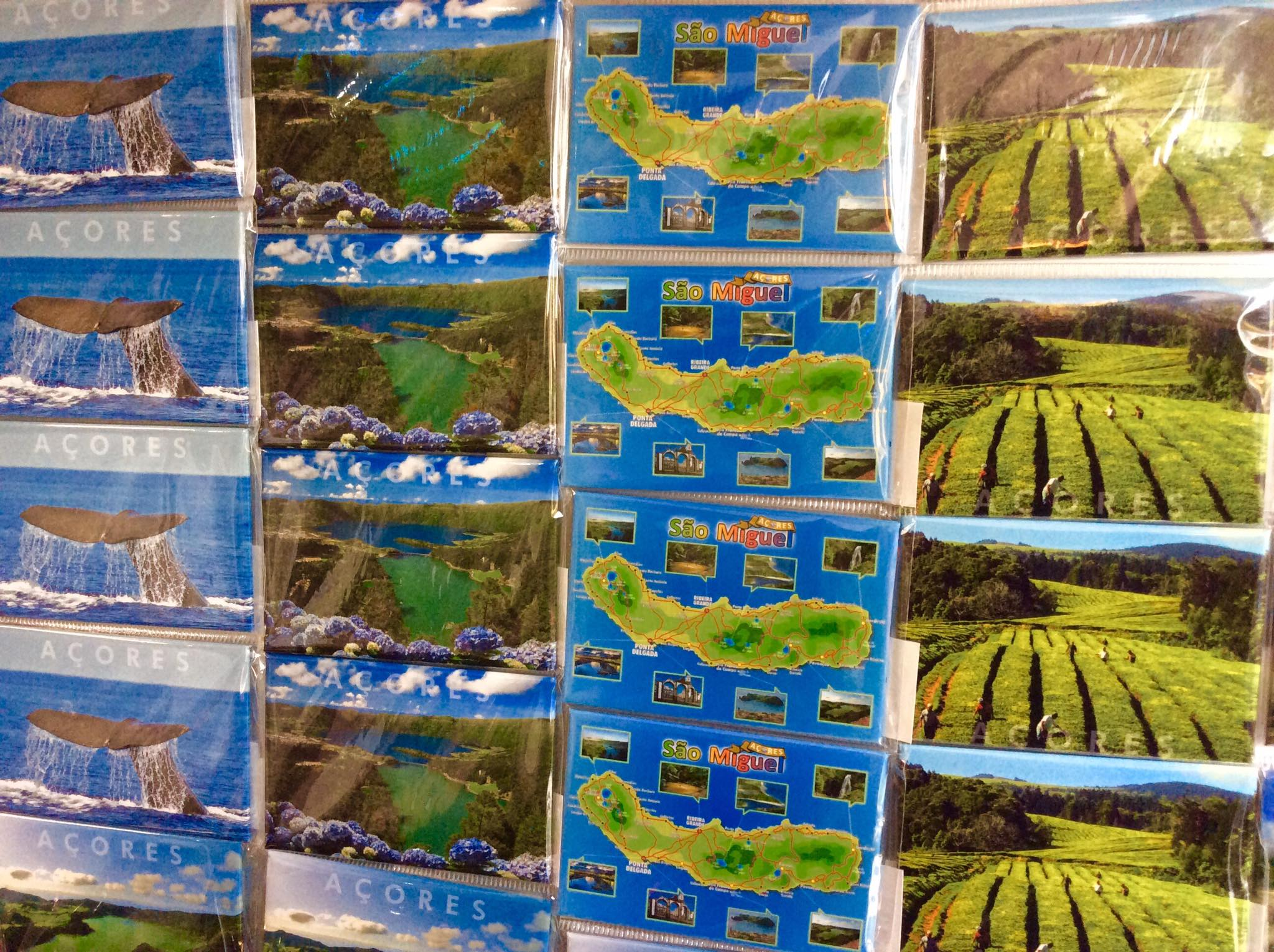 Azores Islands Books and Map