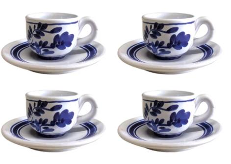 Ceramica Viera Vista Alegre Azores Lagoa Pottery Set