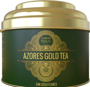 Portuguese Gold Azores 24k Green Tea
