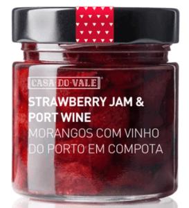 strawberry morango port jam azores